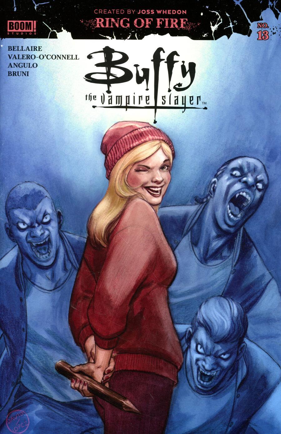 Buffy The Vampire Slayer Vol 2 #13 Cover B Variant David Lopez Cover