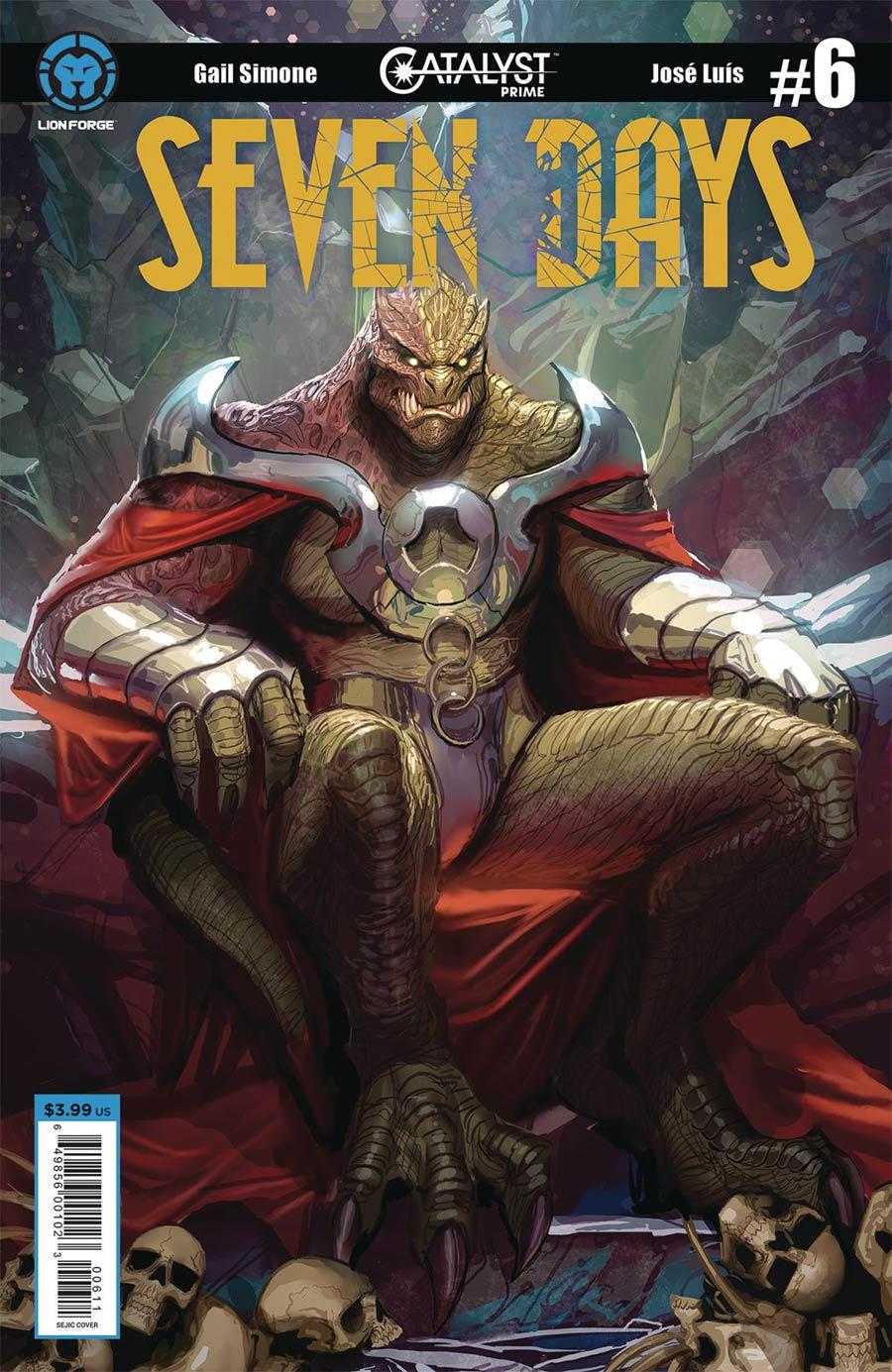 Catalyst Prime Seven Days #6 Cover A Regular Stjepan Sejic Cover