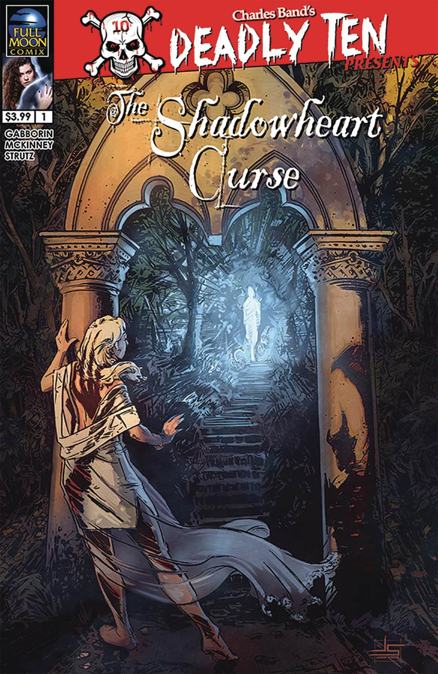 Deadly Ten Presents #7 Shadowheart Curse Cover B Variant Jason Strutz Cover