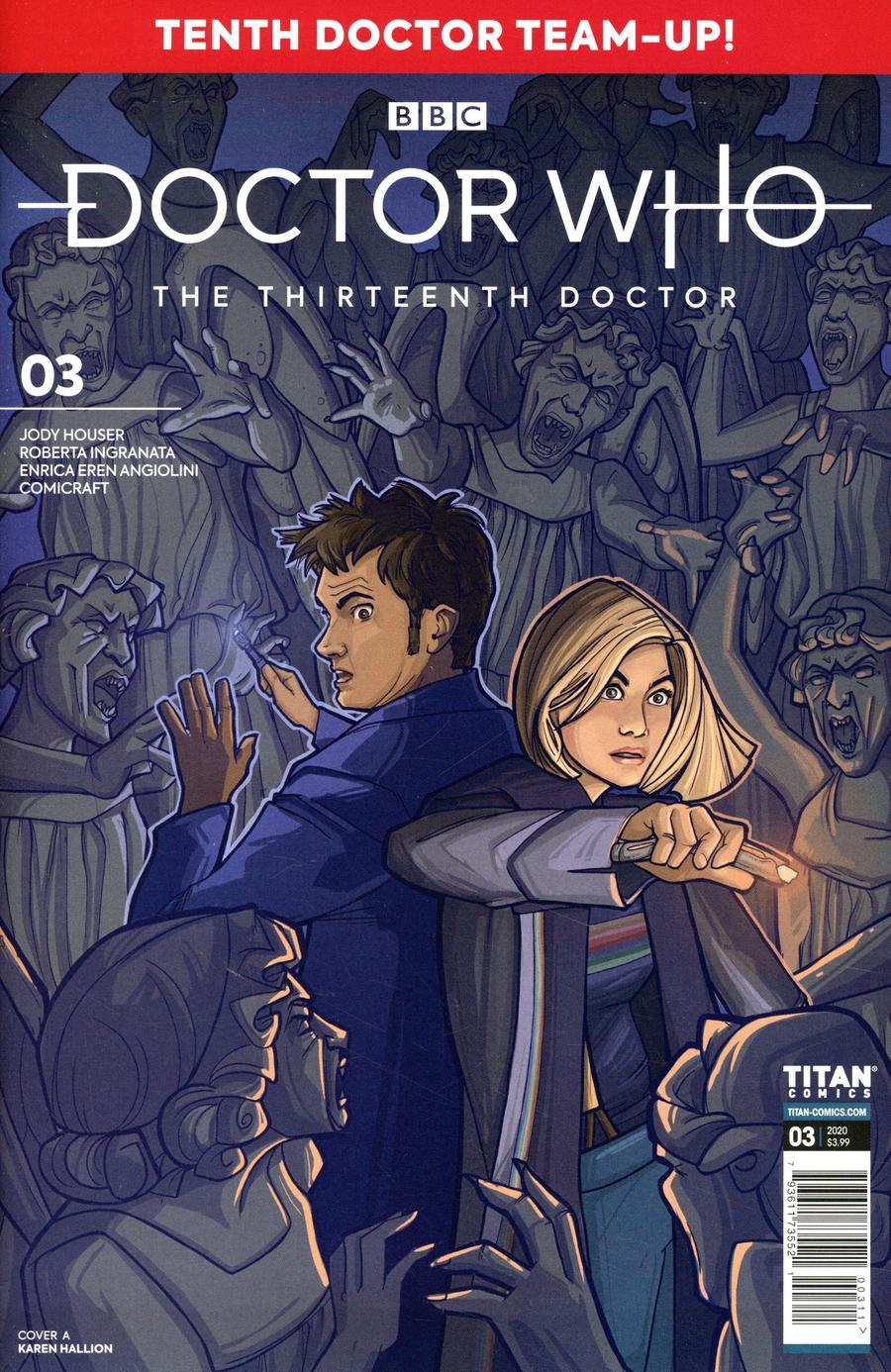 Doctor Who 13th Doctor Season 2 #3 Cover A Regular Karen Hallion Cover