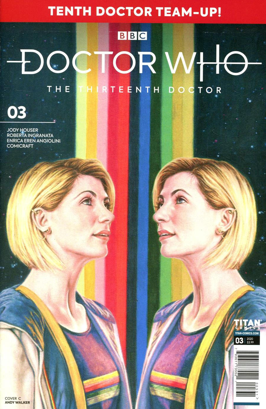 Doctor Who 13th Doctor Season 2 #3 Cover C Variant Andrew Pepoy Cover