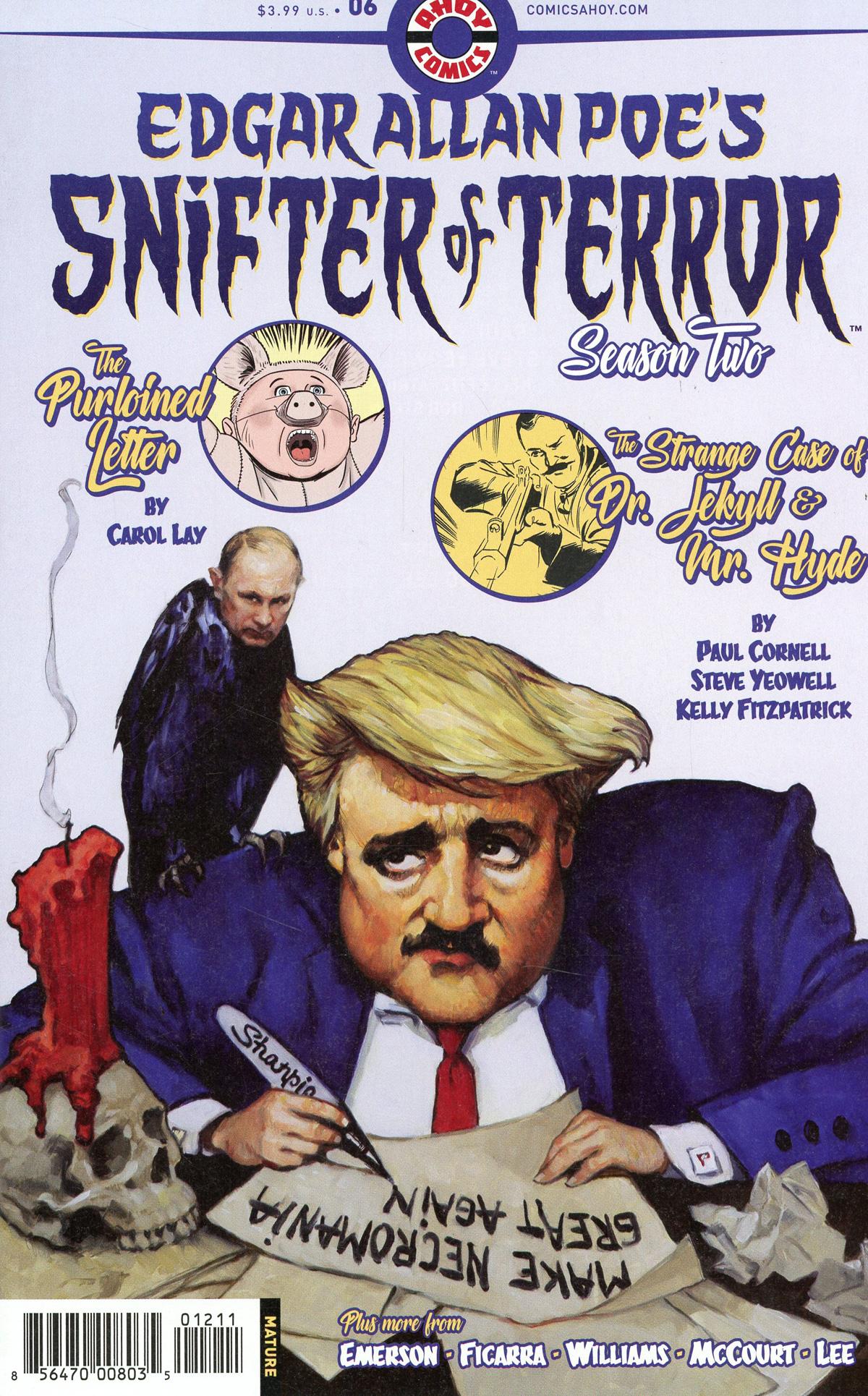 Edgar Allan Poes Snifter Of Terror Season 2 #6