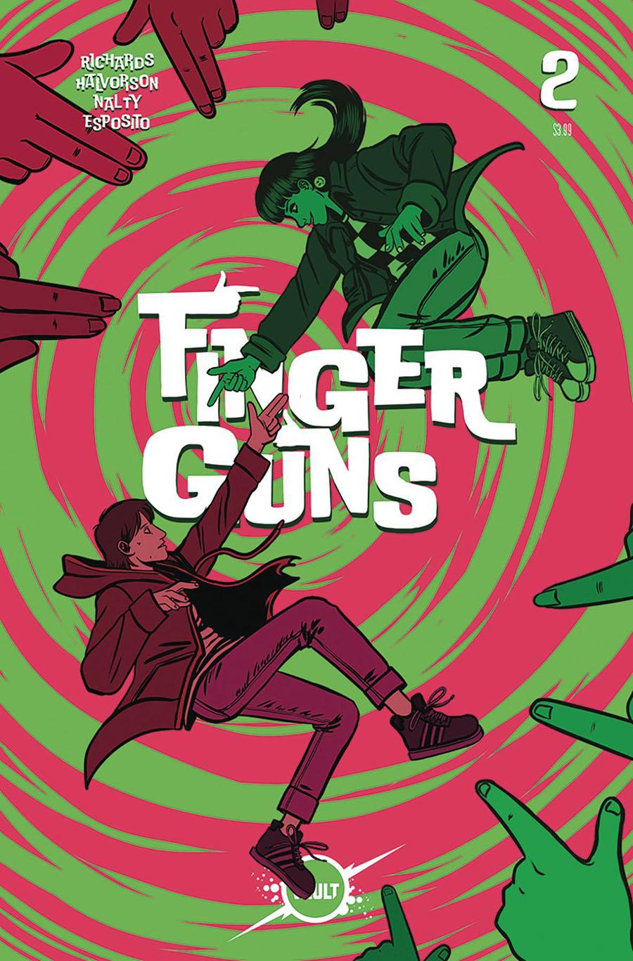 Finger Guns #2 Cover A Regular Val Halvorson Cover