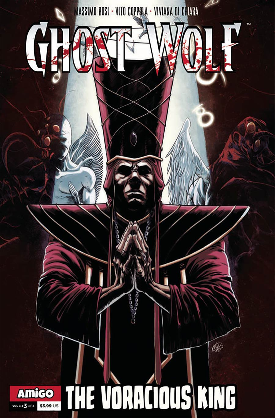 Ghost Wolf Vol 3 The End Of All Tales #3