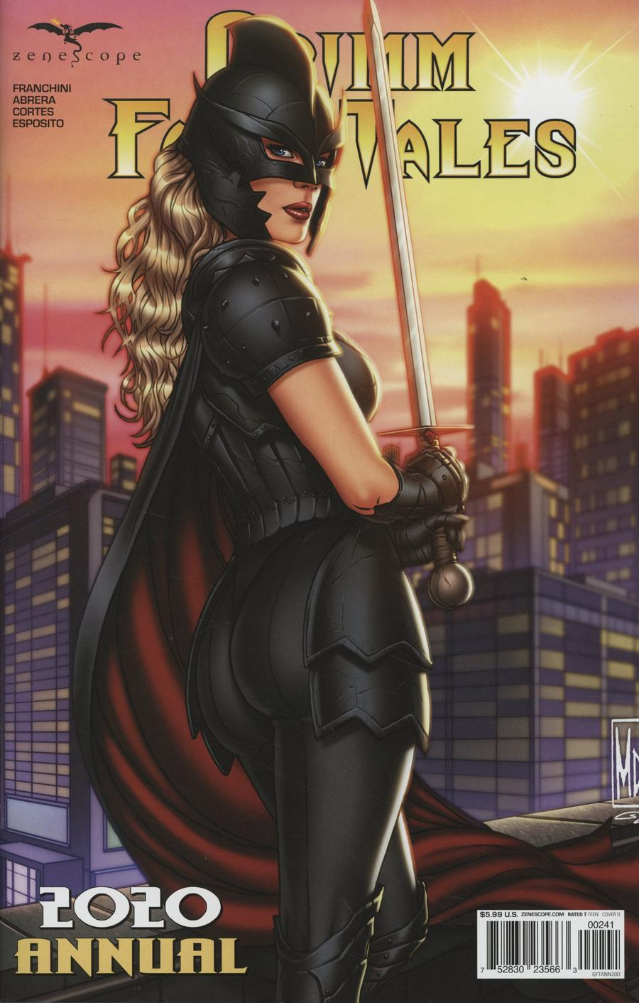 Grimm Fairy Tales Annual 2020 Cover D Michael DiPascale