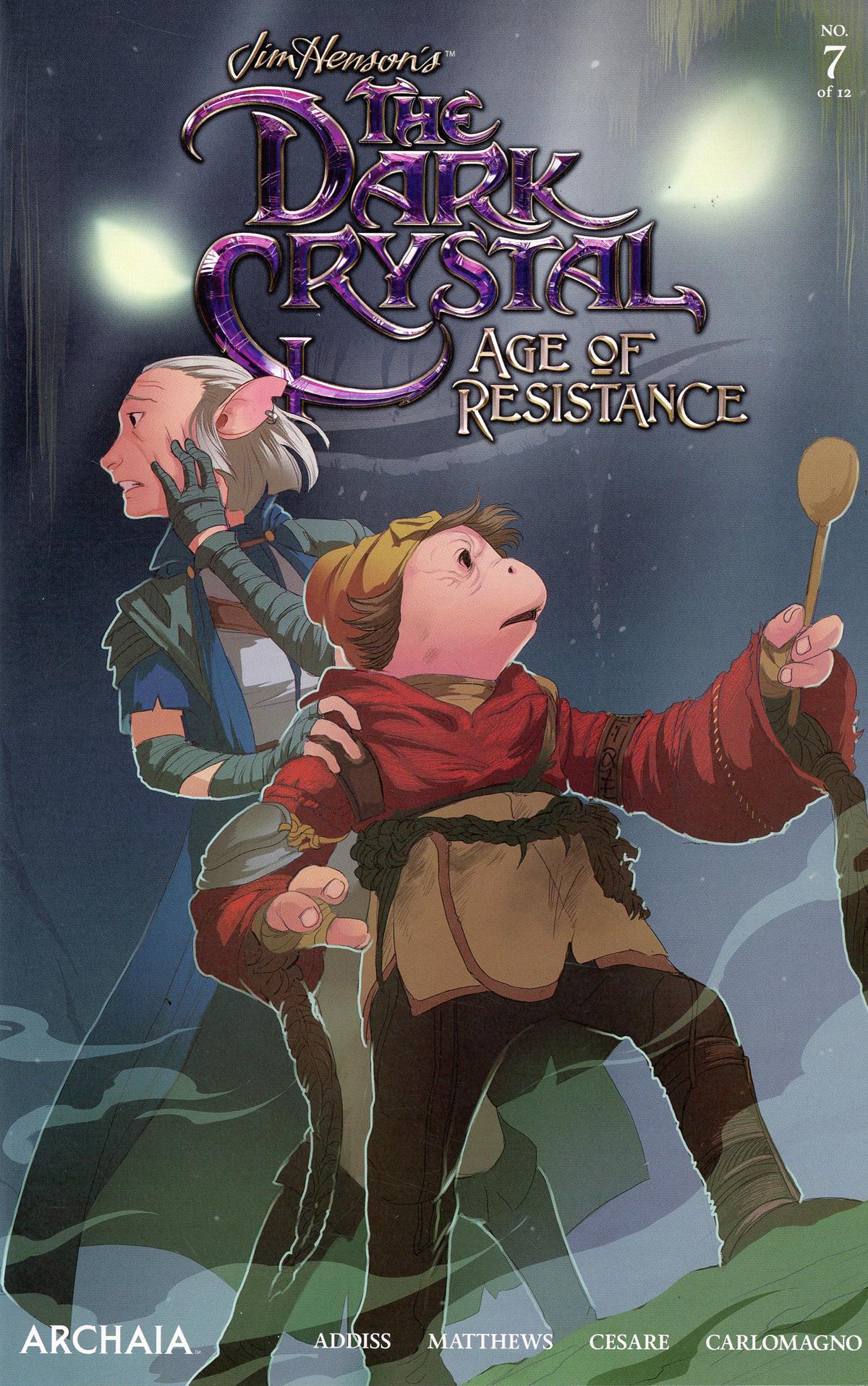 Jim Hensons Dark Crystal Age Of Resistance #7 Cover A Regular Mona Finden Cover