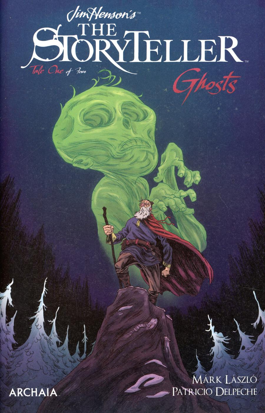 Jim Hensons Storyteller Ghosts #1 Cover B Variant Mark Laszlo Cover