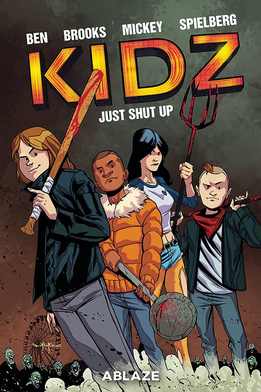 Kidz #3 Cover A Regular Pasquale Qualano Cover
