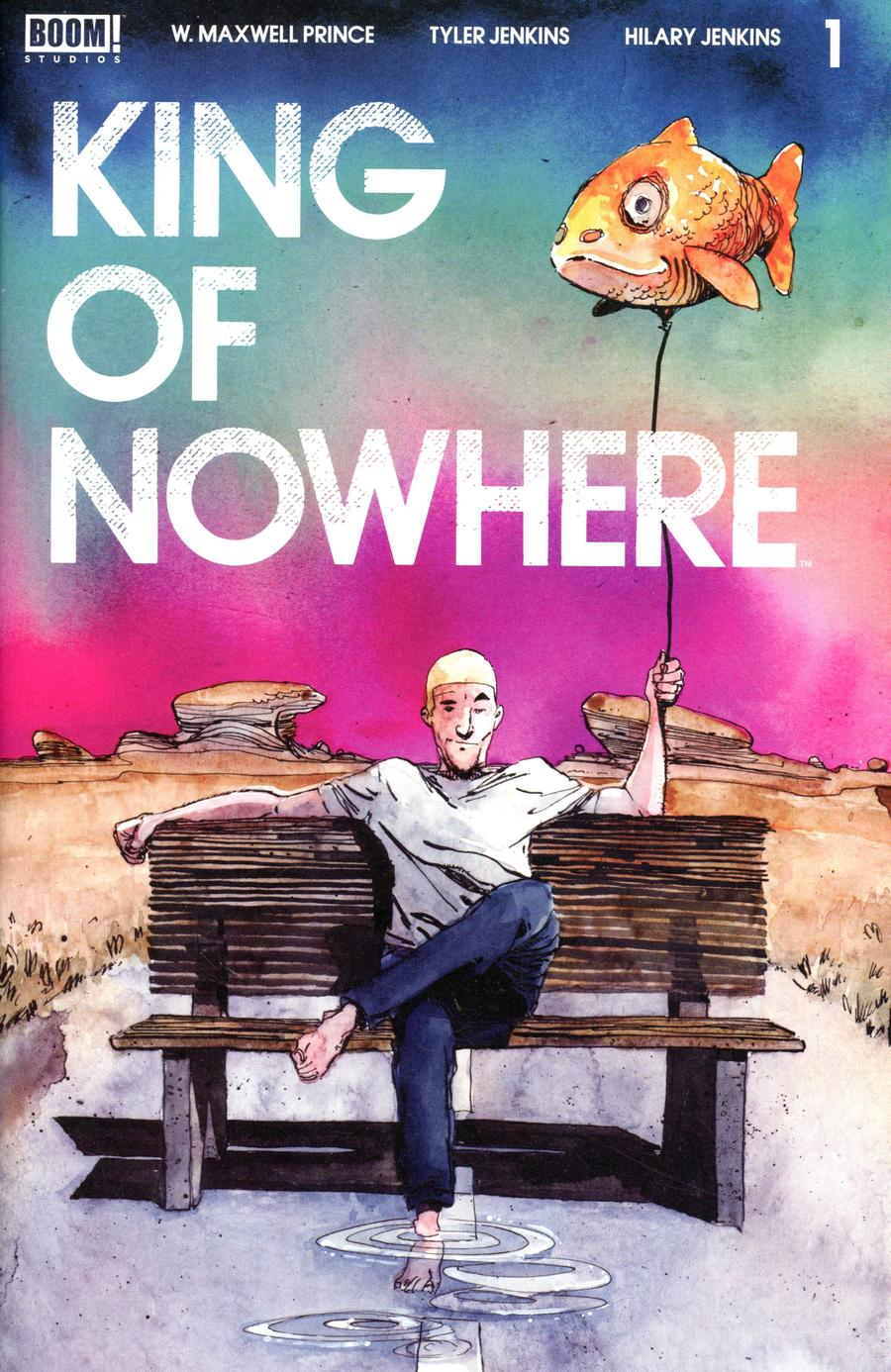 King Of Nowhere #1 Cover A Regular Tyler Jenkins Cover