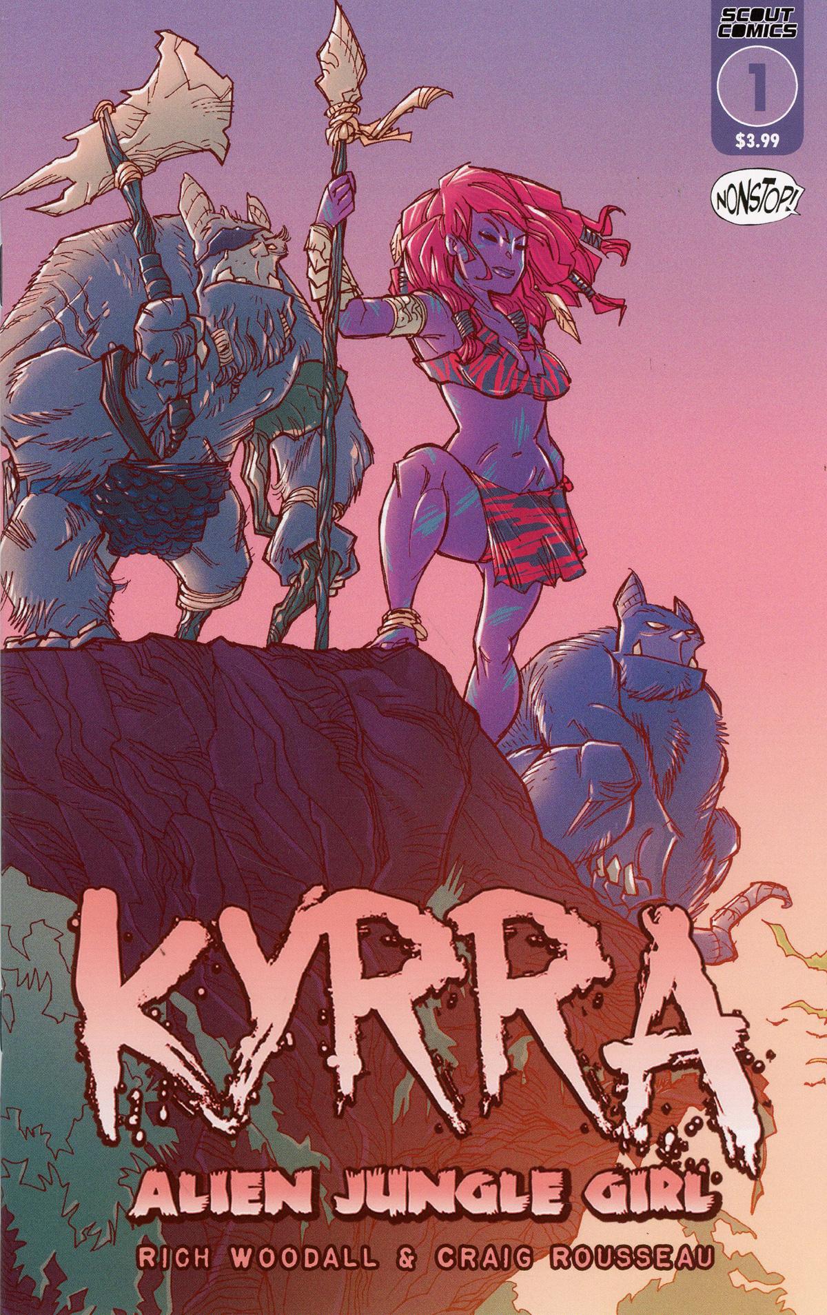 Kyrra Alien Jungle Girl #1