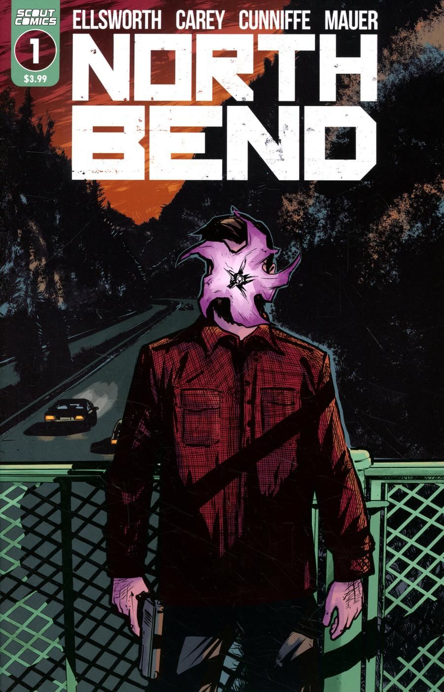 North Bend #1 Cover A Regular Rob Carey Cover