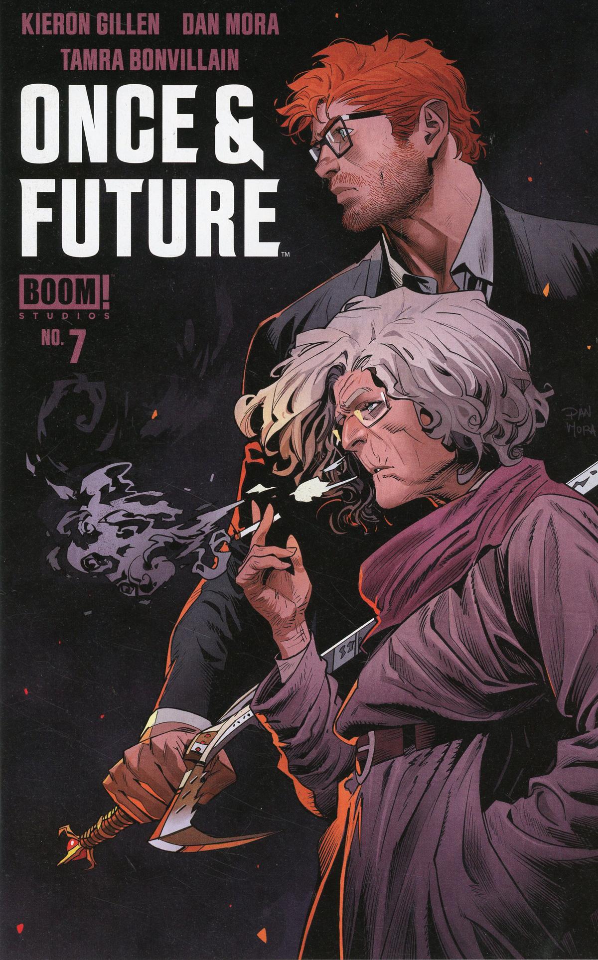 Once & Future #7 Cover A Regular Dan Mora Cover