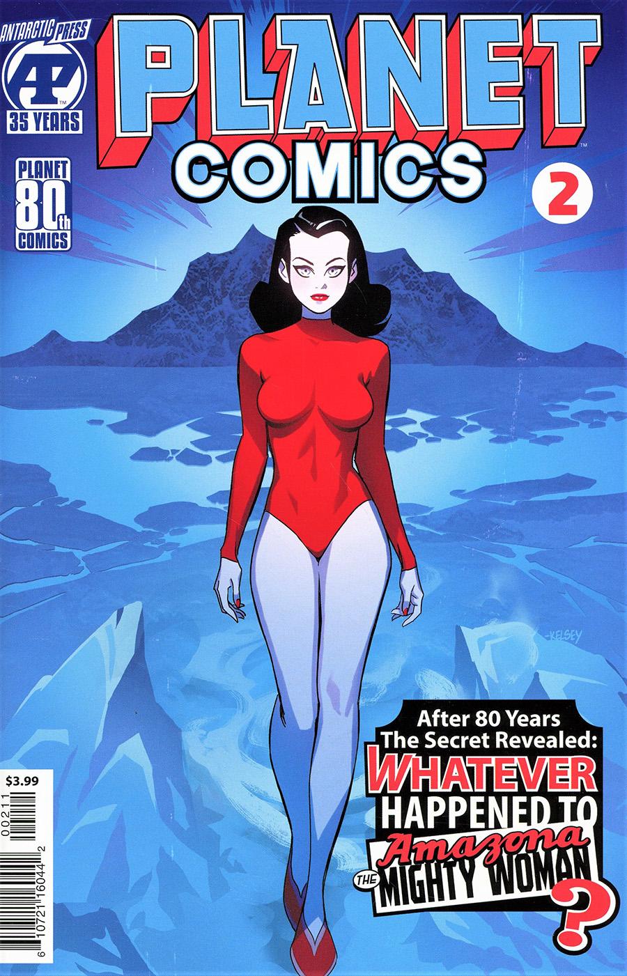 Planet Comics Vol 2 #2 Cover A Regular Kelsey Shannon Cover