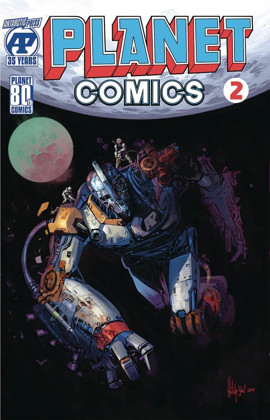 Planet Comics Vol 2 #2 Cover B Variant David Hutchison Cover