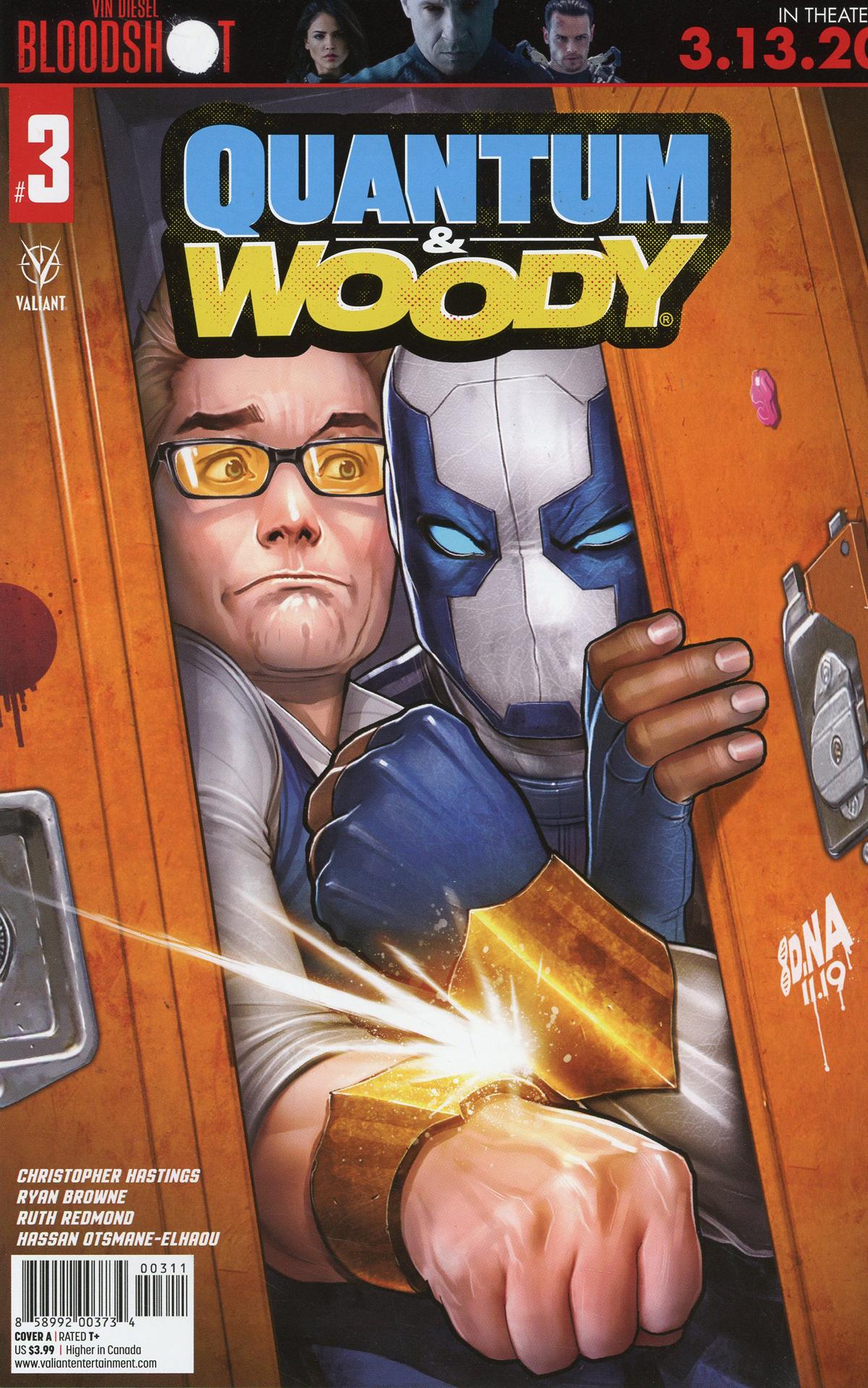 Quantum & Woody Vol 5 #3 Cover A Regular David Nakayama Cover