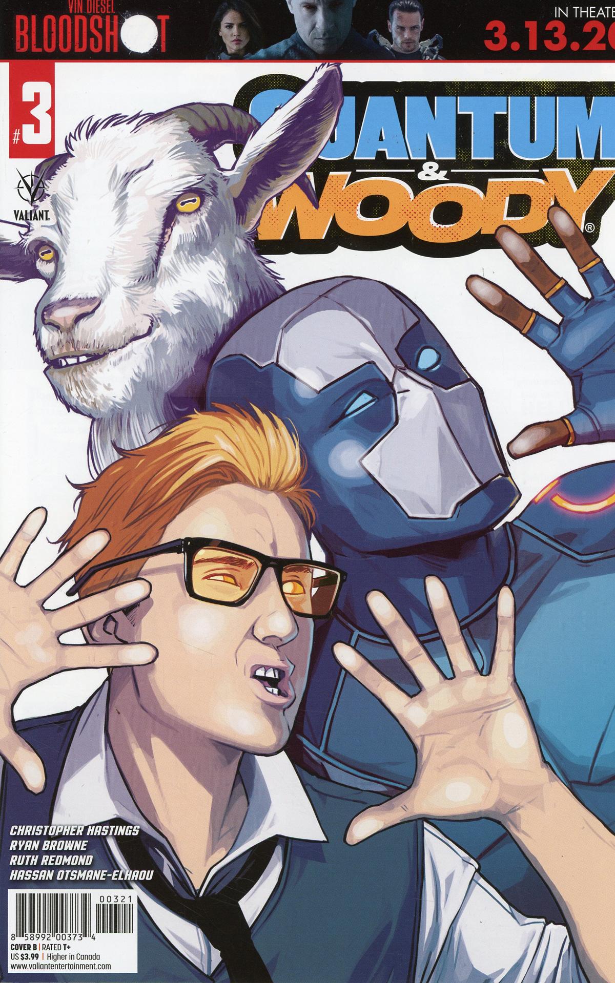 Quantum & Woody Vol 5 #3 Cover B Variant Caspar Wijngaard Cover