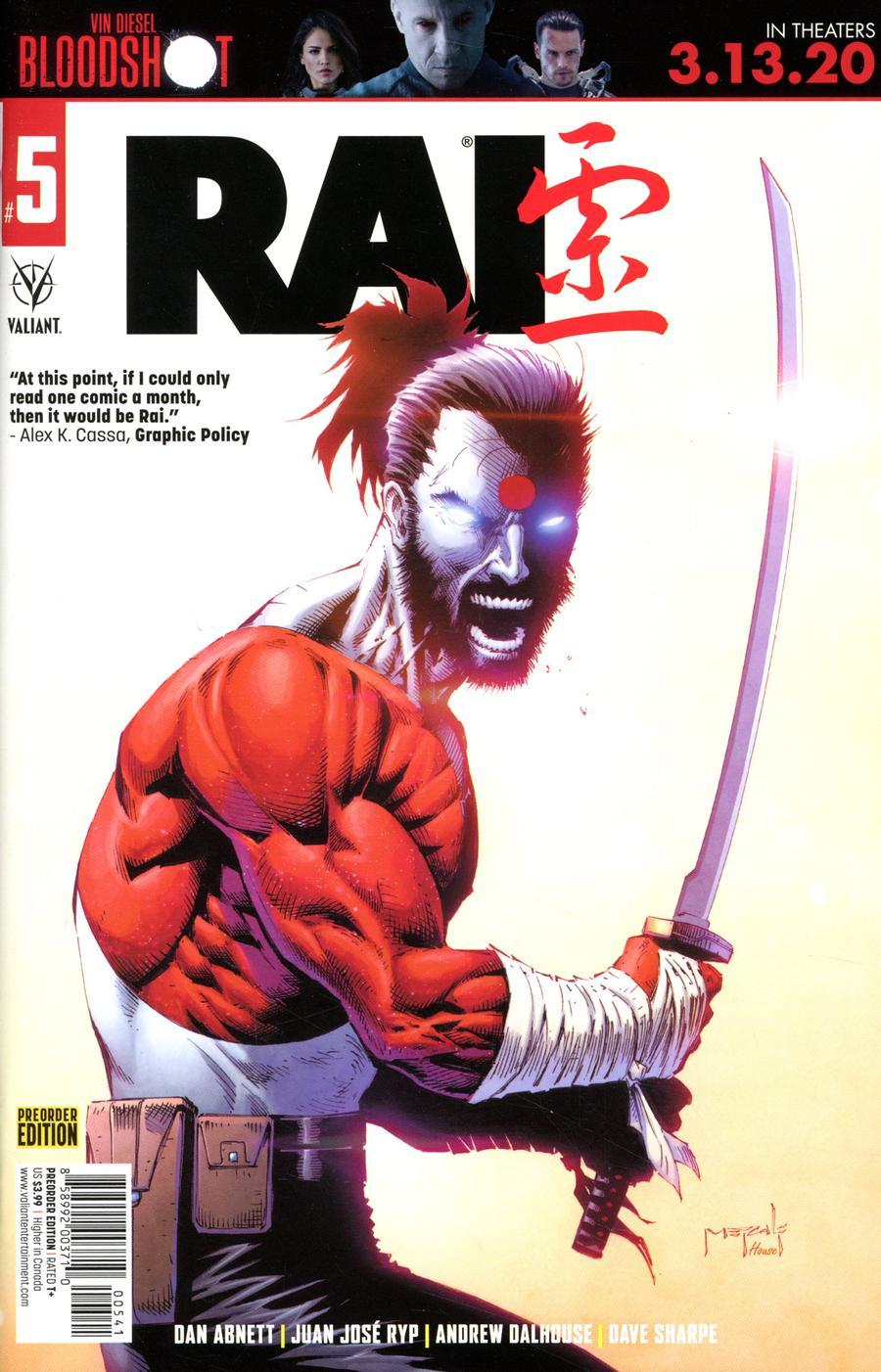 Rai Vol 3 #5 Cover D Variant Pre-Order Edition