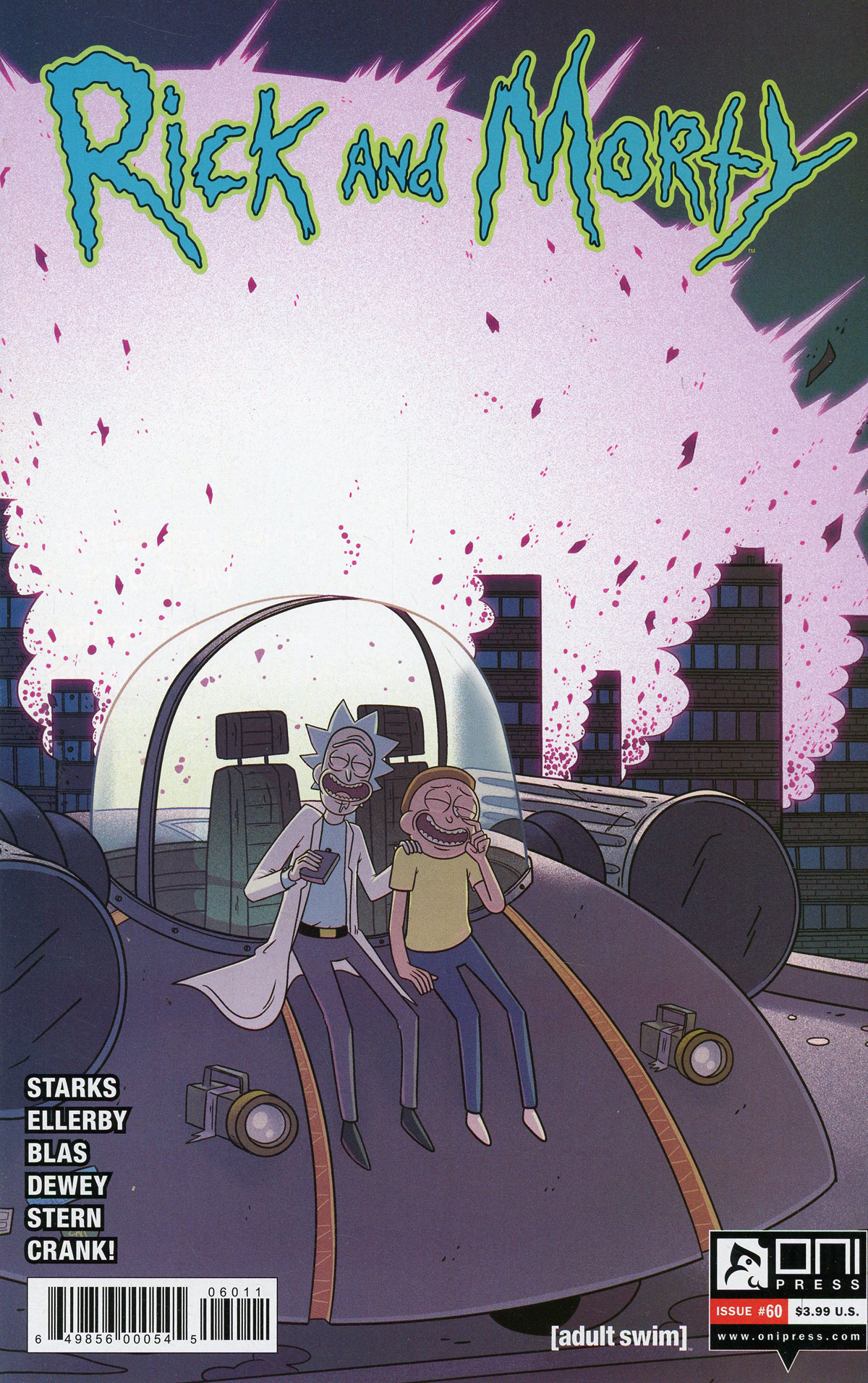 Rick And Morty #60 Cover A Regular Marc Ellerby & Sarah Stern Cover