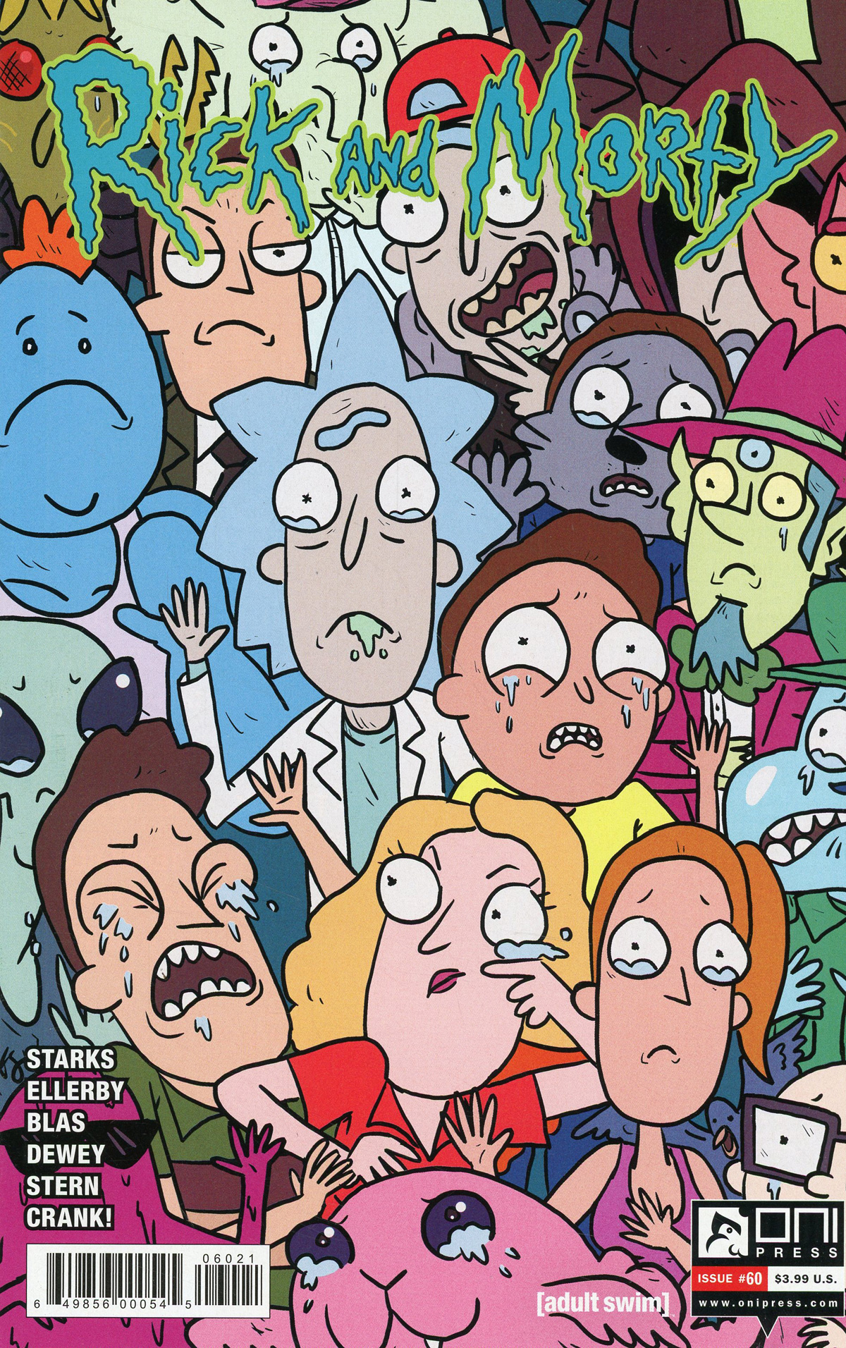 Rick And Morty #60 Cover B Variant Kyle Starks & Sarah Stern Cover