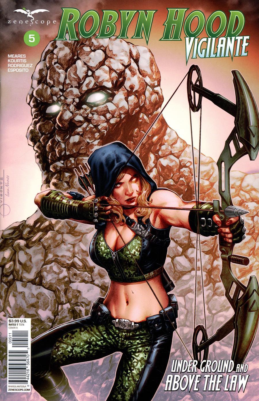 Grimm Fairy Tales Presents Robyn Hood Vigilante #5 Cover A Geebo Vigonte