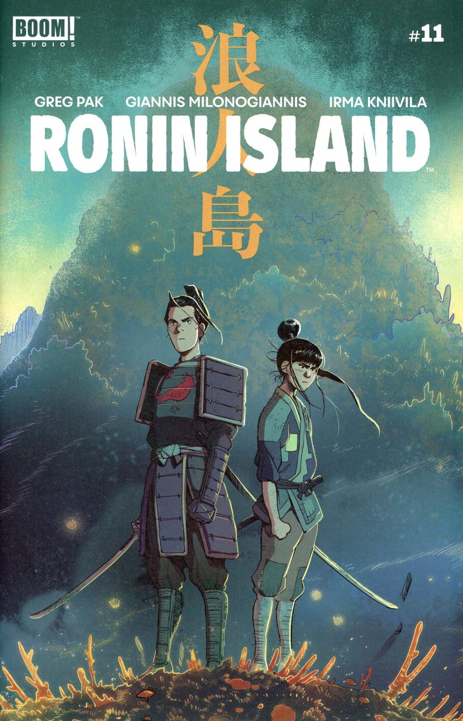 Ronin Island #11 Cover A Regular Giannis Milonogiannis Cover
