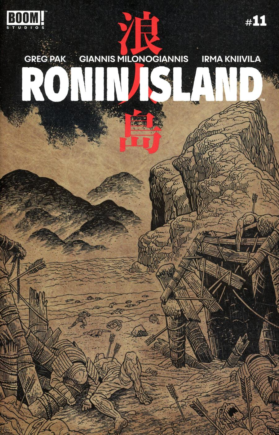Ronin Island #11 Cover B Variant Ethan Young Preorder Cover