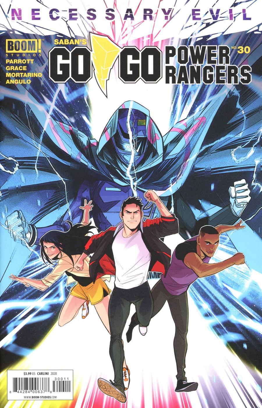 Sabans Go Go Power Rangers #30 Cover A Regular Eleonora Carlini Cover