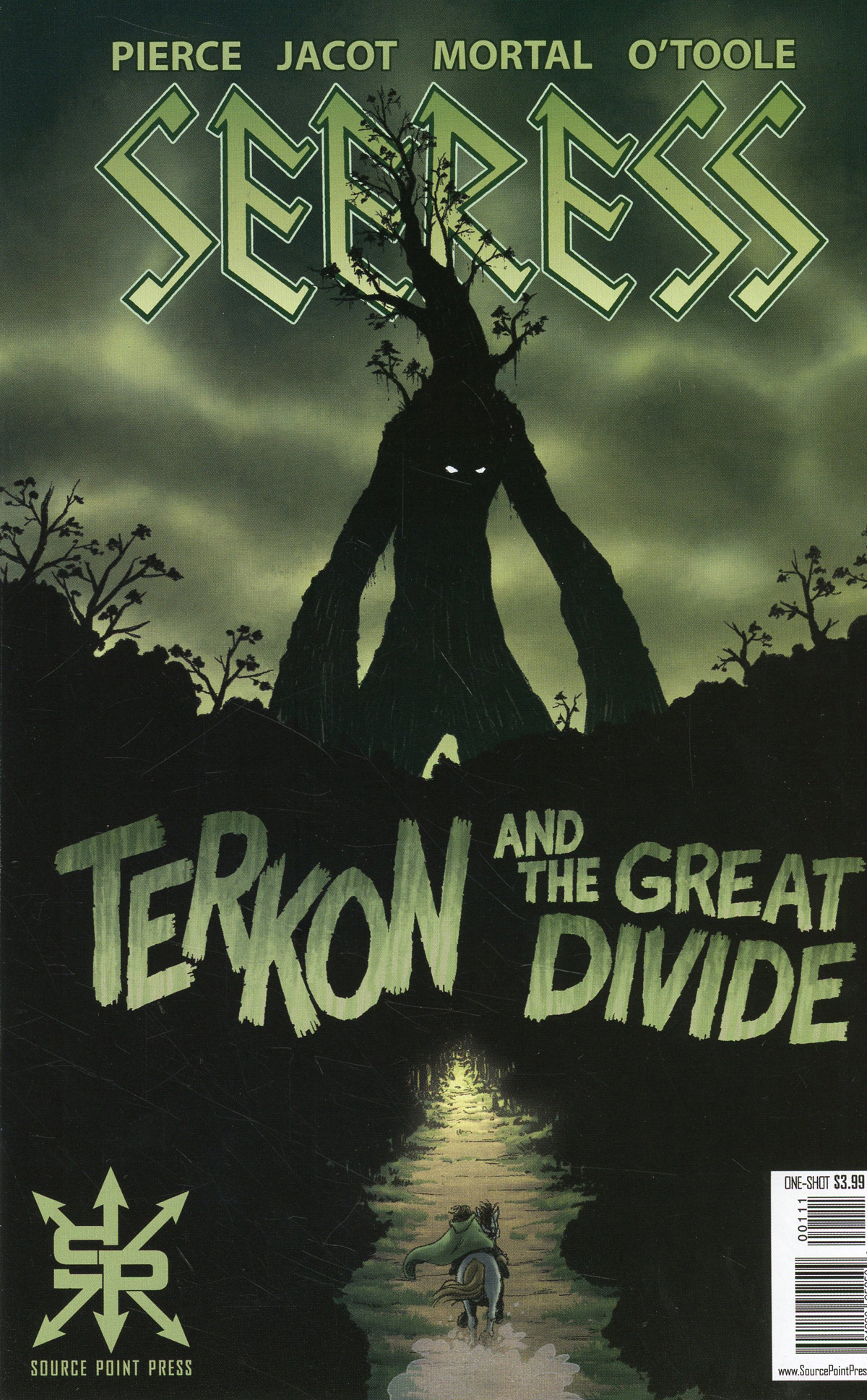Seeress Terkon And The Great Divide One Shot