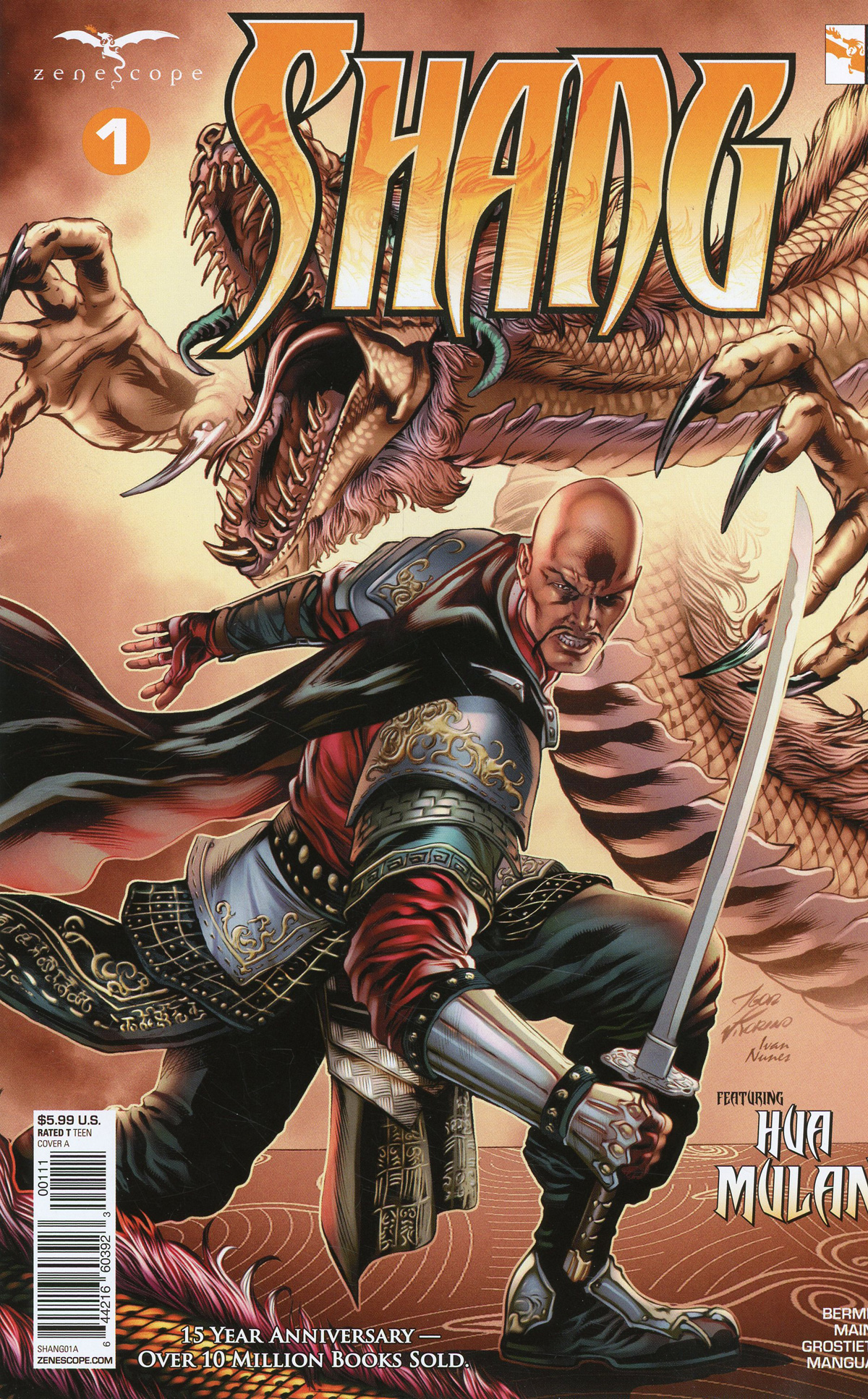 Grimm Fairy Tales Presents Shang #1 Cover A Igor Vitorino