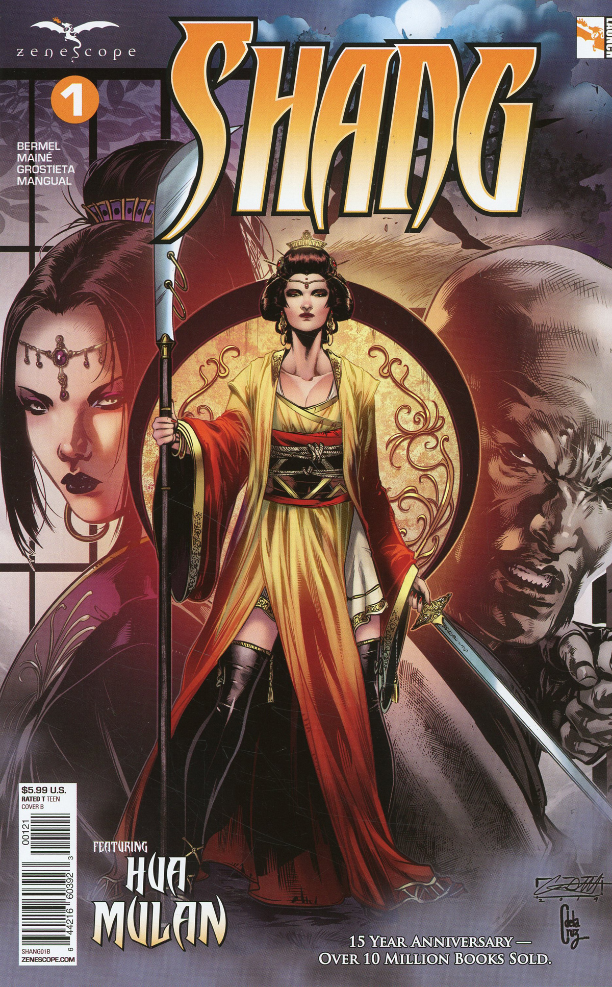 Grimm Fairy Tales Presents Shang #1 Cover B Caanan White