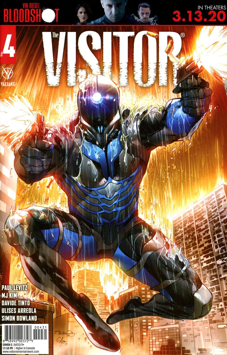 Visitor Vol 2 #4 Cover C Variant Netho Diaz Cover