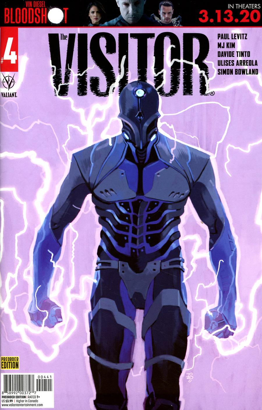 Visitor Vol 2 #4 Cover D Variant Pre-Order Edition