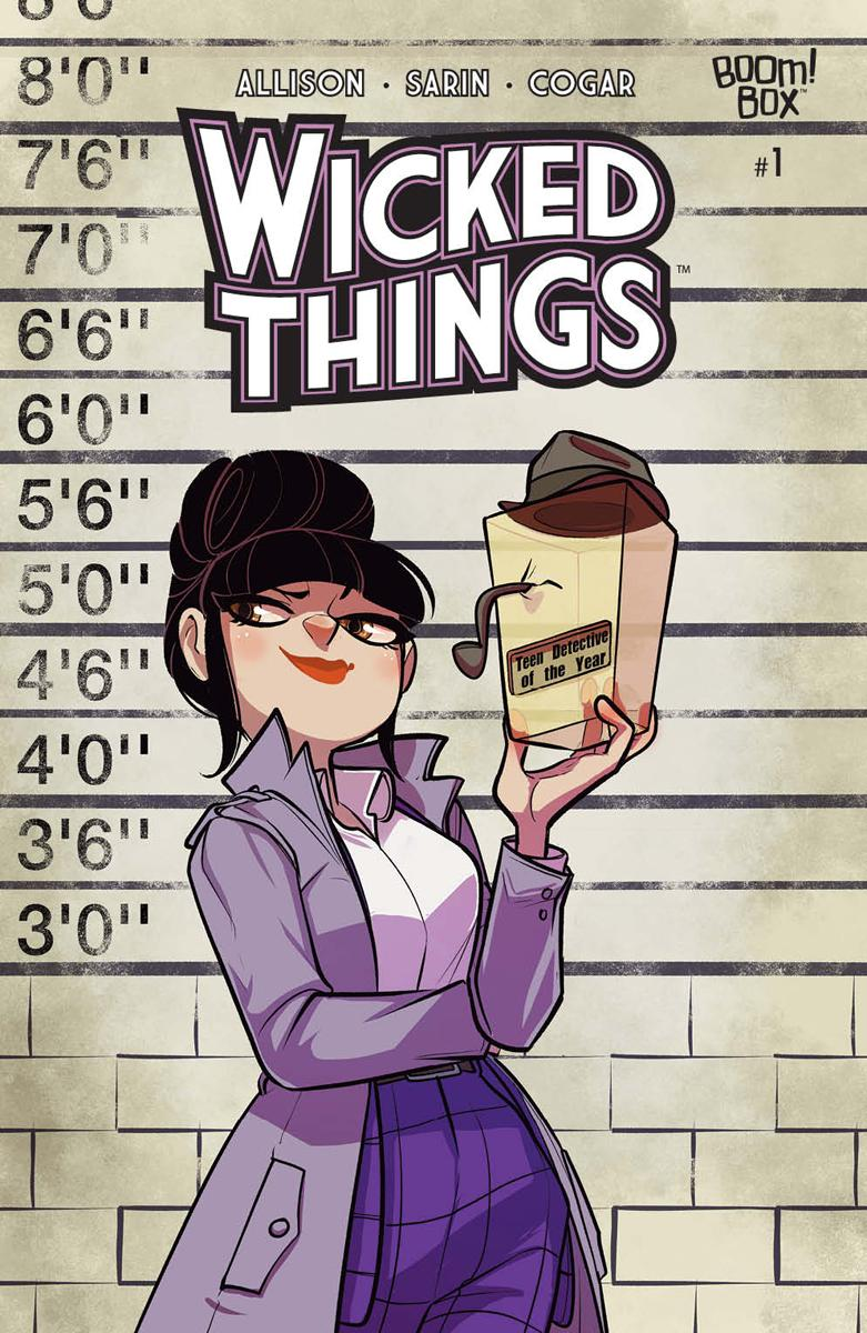 Wicked Things #1 Cover A Regular Max Sarin Cover