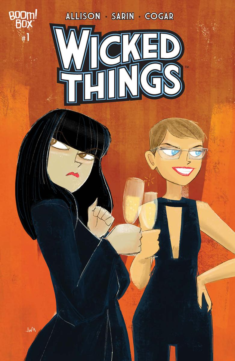 Wicked Things #1 Cover B Variant John Allison Cover