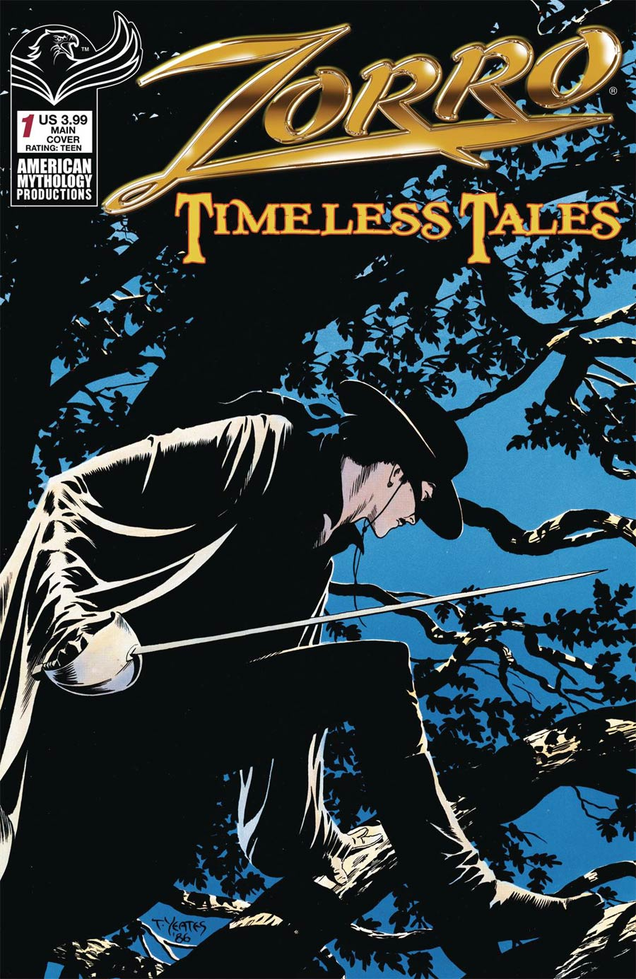 Zorro Timeless Tales #1 Cover A Regular Thomas Yeates Cover