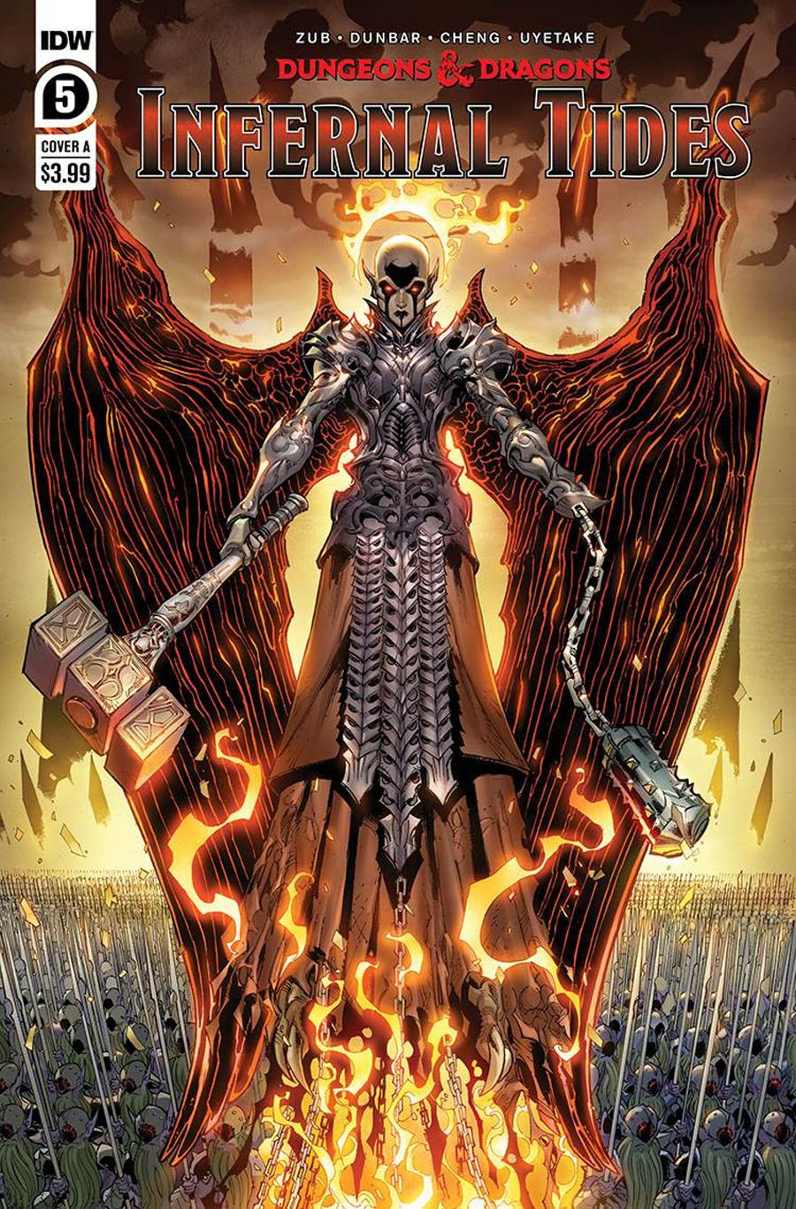 Dungeons & Dragons Infernal Tides #5 Cover A Regular Max Dunbar Cover