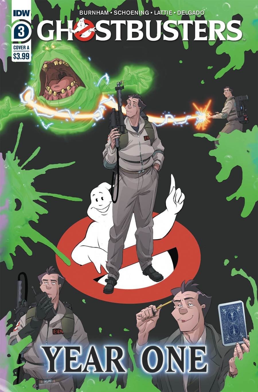 Ghostbusters Year One #3 Cover A Regular Dan Schoening Cover