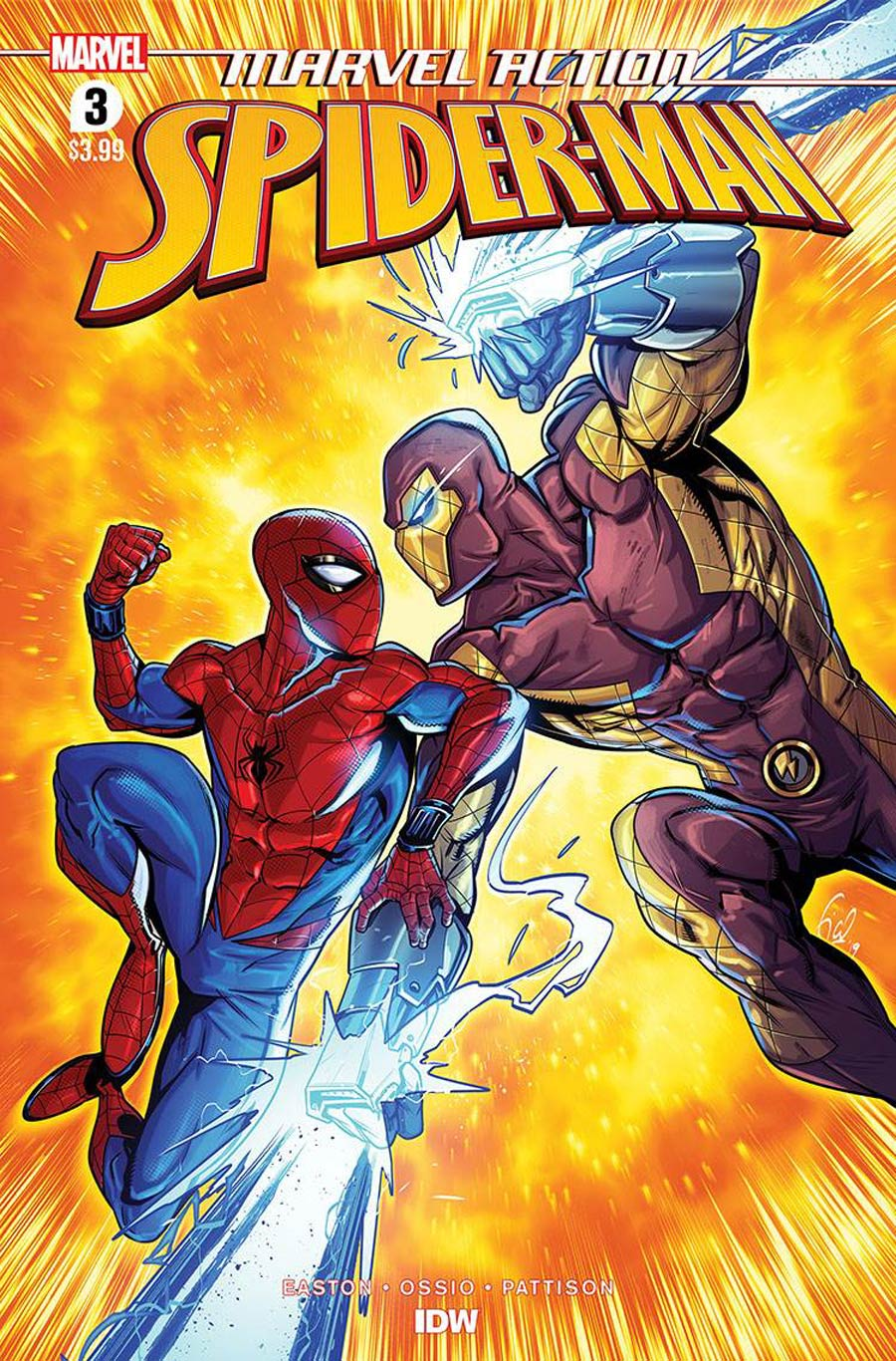 Marvel Action Spider-Man Vol 2 #3 Cover A Regular Fico Ossio Cover