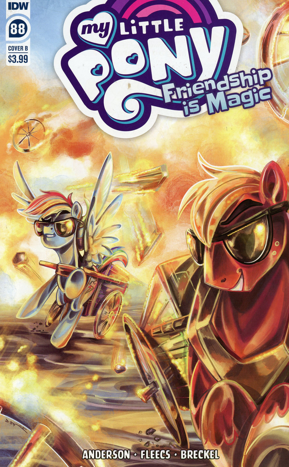 My Little Pony Friendship Is Magic #88 Cover B Variant Sara Richard Cover