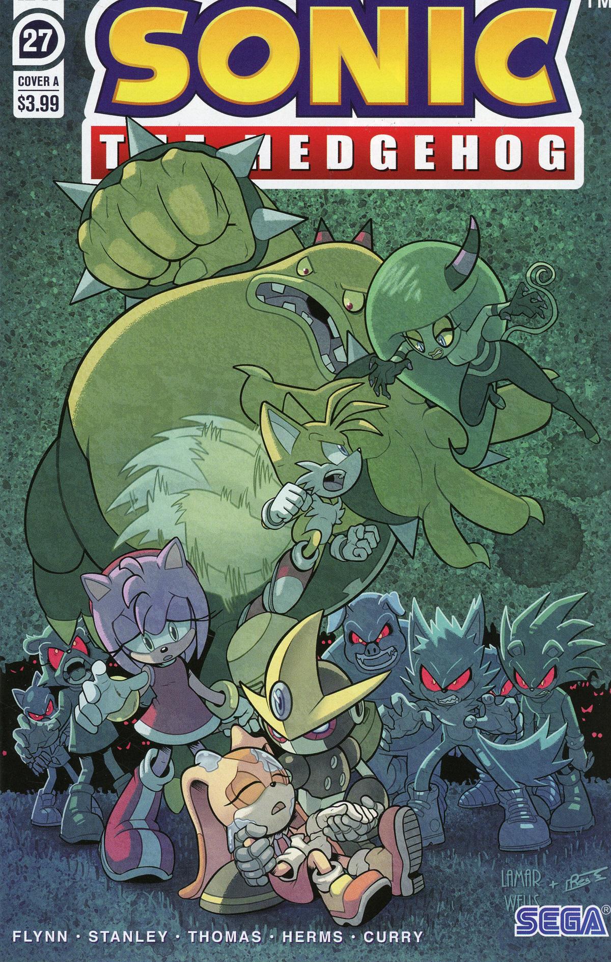 Sonic The Hedgehog Vol 3 #27 Cover A Regular Lamar Wells & Reggie Graham Cover