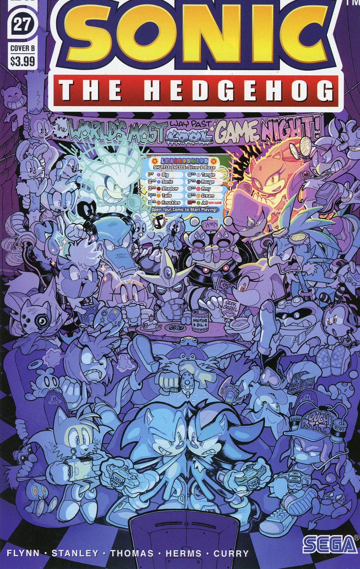 Sonic The Hedgehog Vol 3 #27 Cover B Variant Jonathan Gray & Reggie Graham Cover