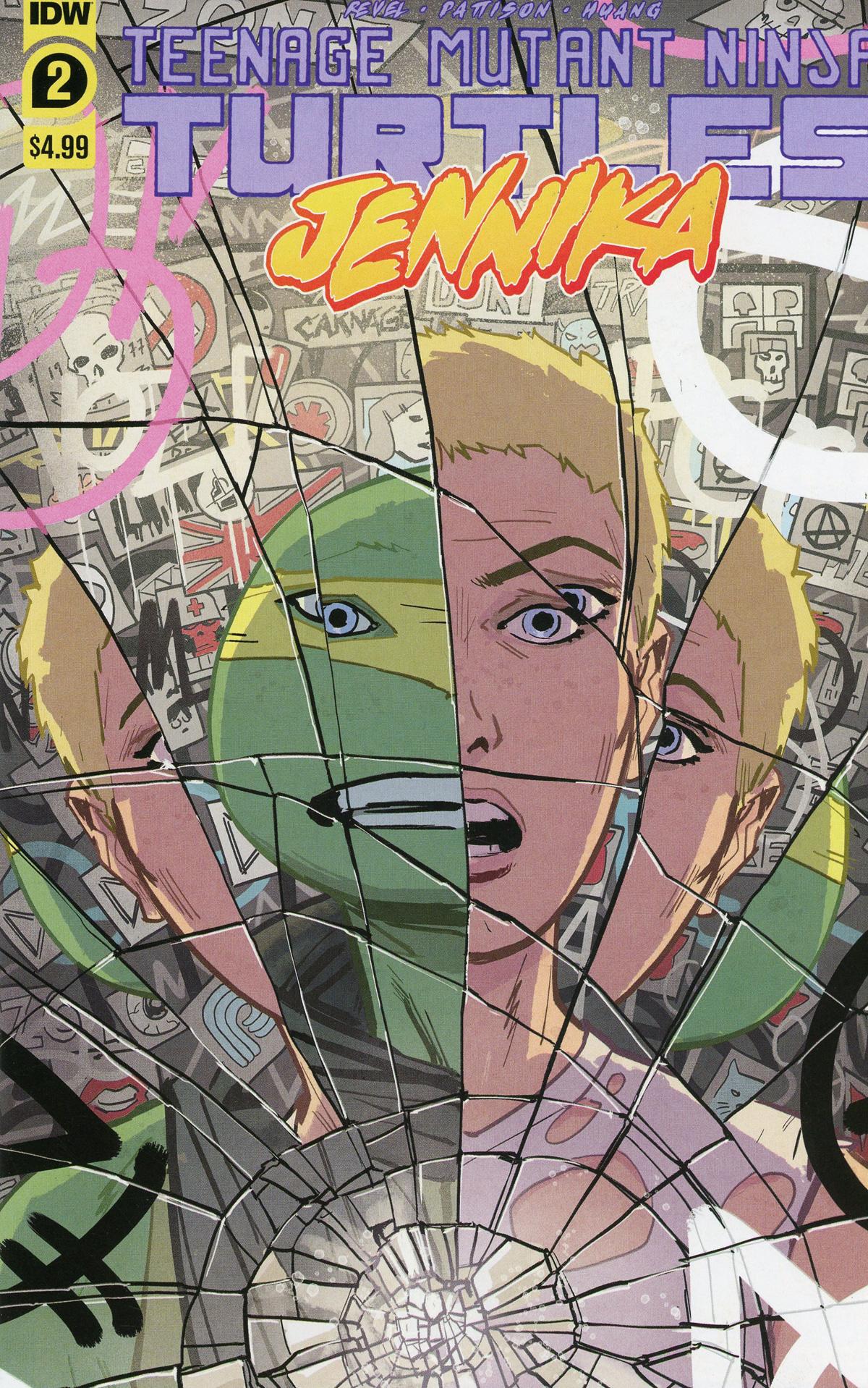 Teenage Mutant Ninja Turtles Jennika #2 Cover A Regular Brahm Revel Cover