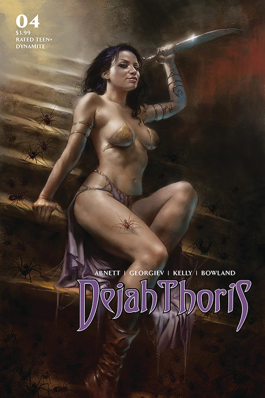 Dejah Thoris Vol 3 #4 Cover A Regular Lucio Parrillo Cover