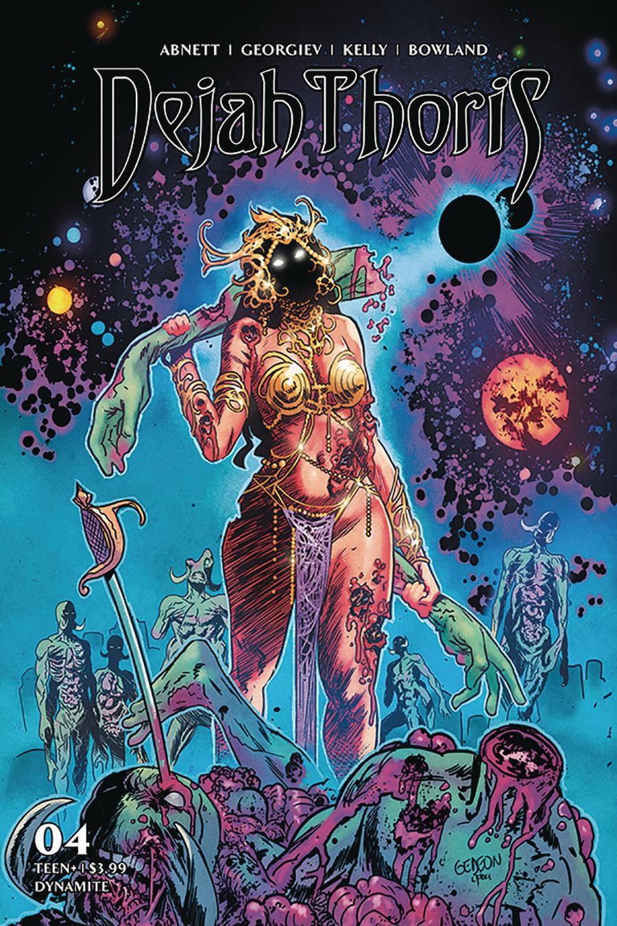 Dejah Thoris Vol 3 #4 Cover D Variant Juan Gedeon Zombie Cover