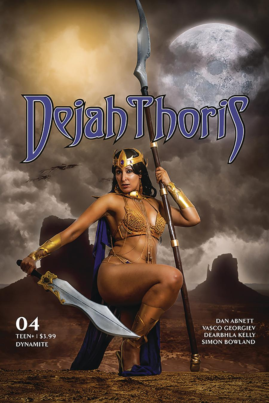 Dejah Thoris Vol 3 #4 Cover E Variant Tasha Cosplay UK Photo Cover