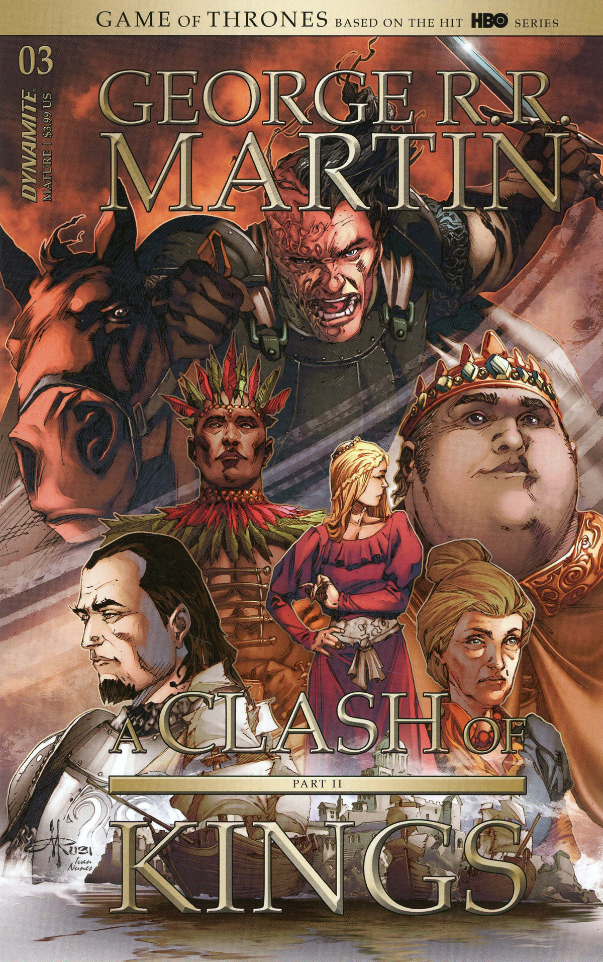Game Of Thrones Clash Of Kings Vol 2 #3 Cover B Variant Mel Rubi Cover