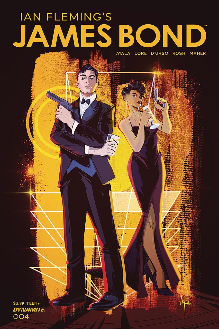 James Bond Vol 3 #4 Cover A Regular Afua Richardson Cover