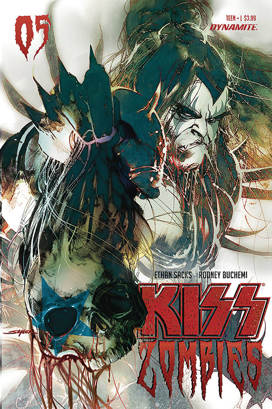 KISS Zombies #5 Cover B Variant Stuart Sayger Cover