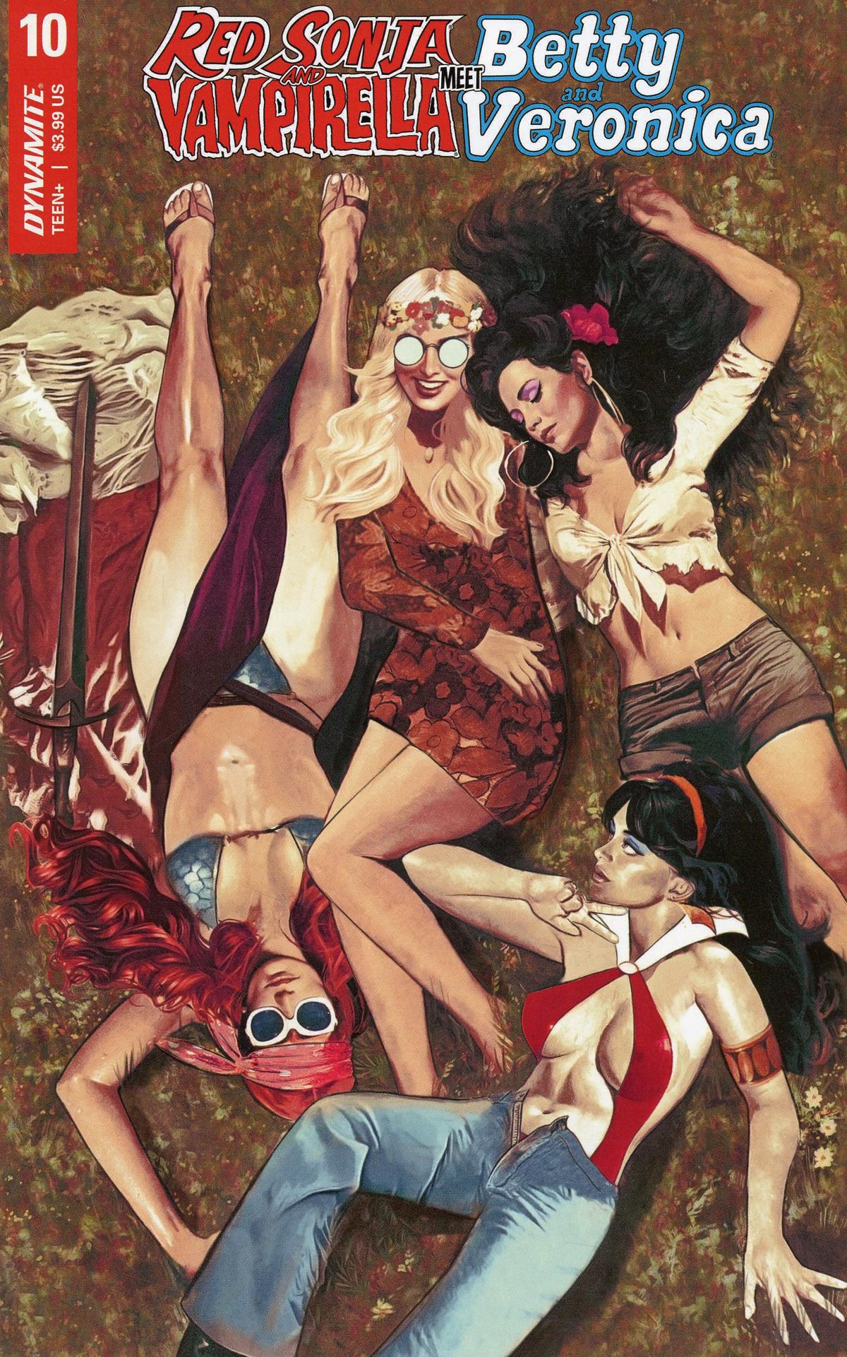Red Sonja And Vampirella Meet Betty And Veronica #10 Cover A Regular Fay Dalton Cover