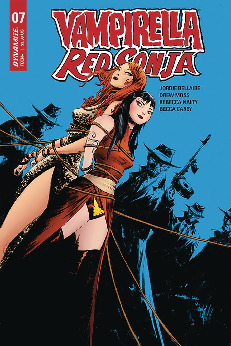 Vampirella Red Sonja #7 Cover A Regular Jae Lee Cover